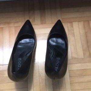 Black stiletto shoes Aldo